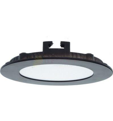 SPOT LED 6W SLIM ROTUND RAMA WENGE