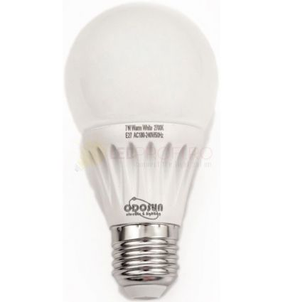 BEC LED E27 7W GLOB A60 270 GRADE