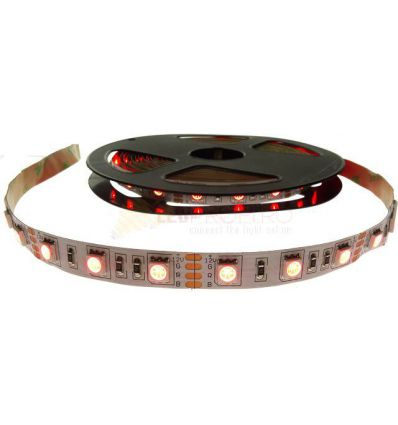 BANDA LED 60 x 5050 14.4W IP20 RGB