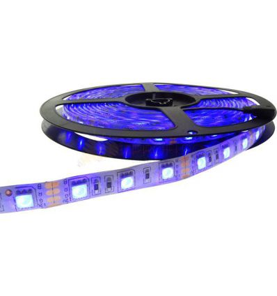 BANDA LED 60 x 5050 14.4W IP65 RGB
