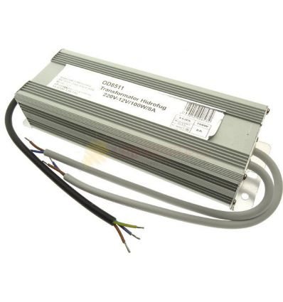 TRANSFORMATOR BANDA LED 12V 100W IP67
