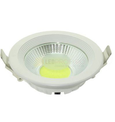 SPOT LED 10W DOWNLIGHT ROTUND ALB RECE