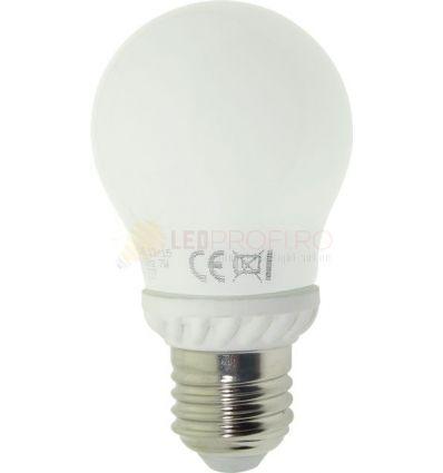 BEC LED E25 5W GLOB 360 GRADE