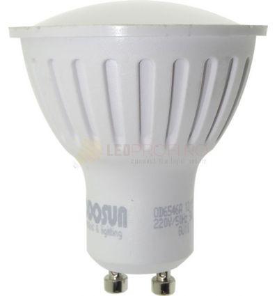 BEC LED GU10 5W 220V ODO