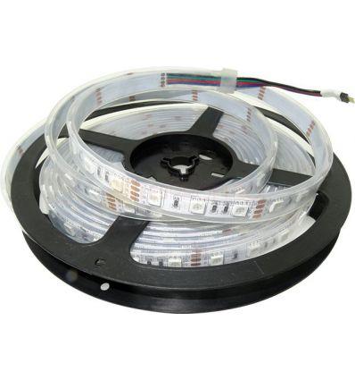 BANDA LED 60 x 5050 RGB 14.4W IP68