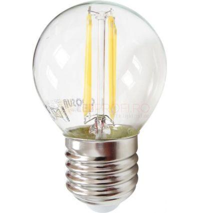BEC LED FILAMENT E27 4W ALB CALD G45