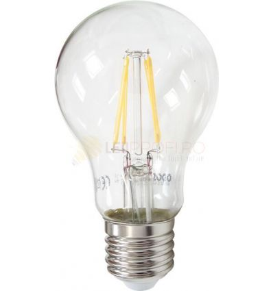 BEC LED FILAMENT E27 6W ALB CALD A60