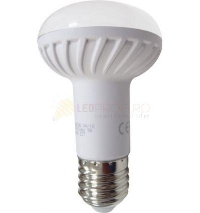 BEC CU LED E27 9W SPOT R63 ALB CALD