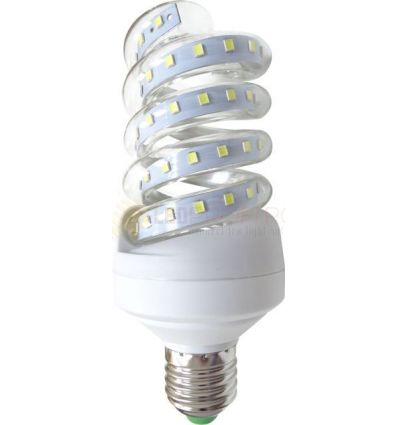 BEC LED E27 12W SPIRALA