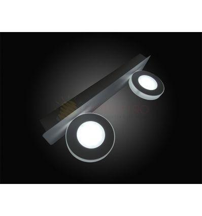 CORP ILUMINAT LED 6W ROTUND 7952