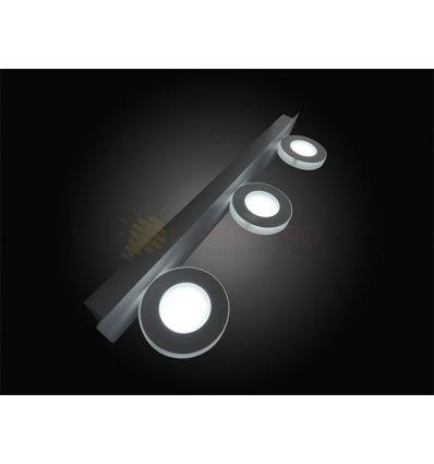 CORP ILUMINAT LED 9W ROTUND 7952