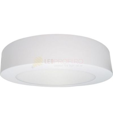 APLICA LED 12W ROTUNDA ALB RECE ECO