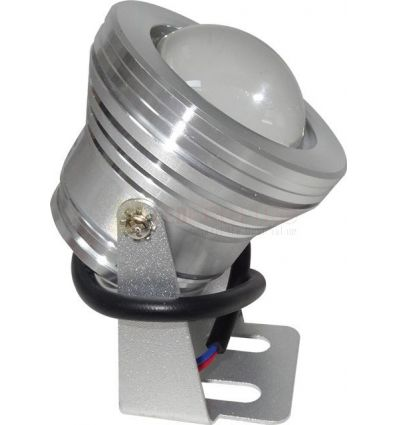 SPOT LED 10W IP65 ALB RECE 12V