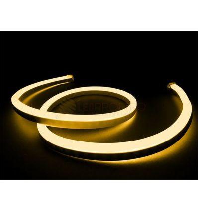 TUB LED NEON FLEX ALB CALD 4.8W/M IP65 230V