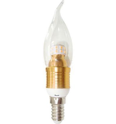 BEC LED E14 5W FLACARA TRANSPARENT