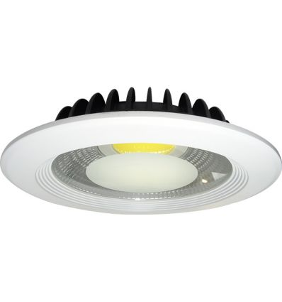 SPOT LED 30W DOWNLIGHT ROTUND ALB NATURAL