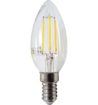 BEC LED FILAMENT E14 4W ALB NATURAL C35