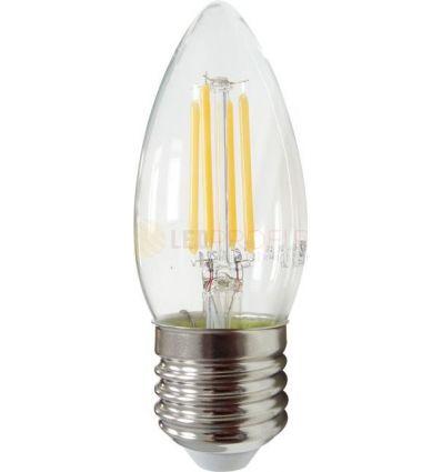BEC LED FILAMENT E27 4W ALB CALD C35