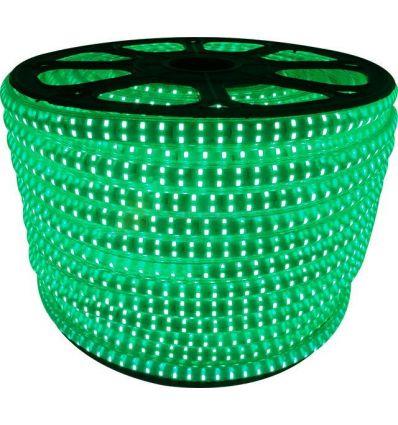 BANDA LED 230V 180x2835 14W VERDE