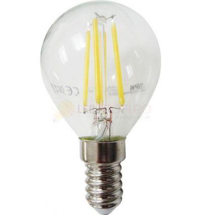 BEC LED FILAMENT E14 4W ALB NATURAL G45