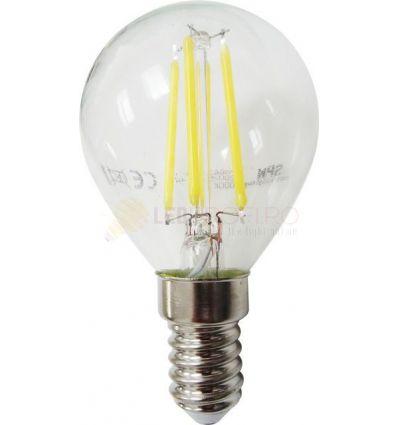 BEC LED FILAMENT E14 4W ALB RECE G45