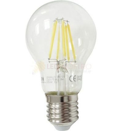 BEC LED FILAMENT E27 8W ALB NATURAL A60