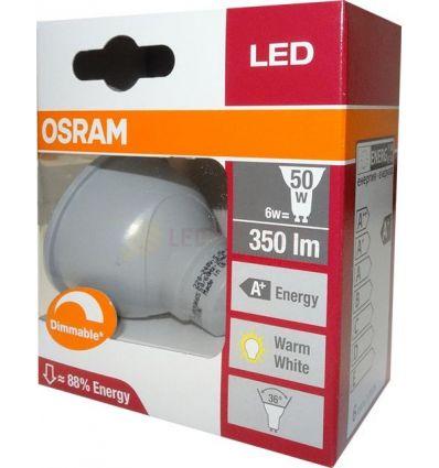 BEC LED 5.3W / 6W GU10 DIMABIL OSRAM