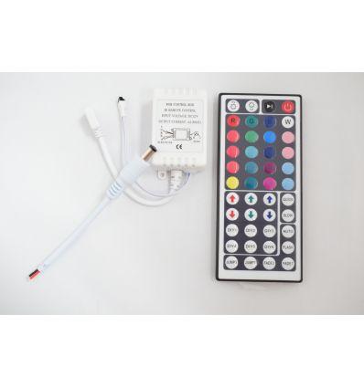 CONTROLLER BANDA LED RGB 6A CU TELECOMANDA 44 TASTE