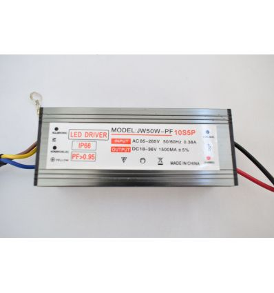LED DRIVER 50W 85-265V