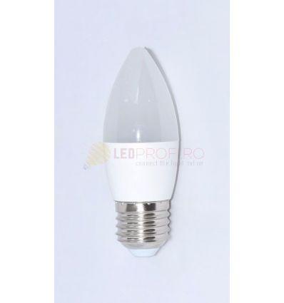 BEC LED E27 6W ALB RECE