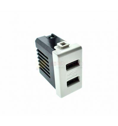 PRIZA USB 1A/2A/230V