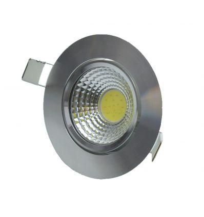 SPOT LED COB 7W/6500K ALUMINIU