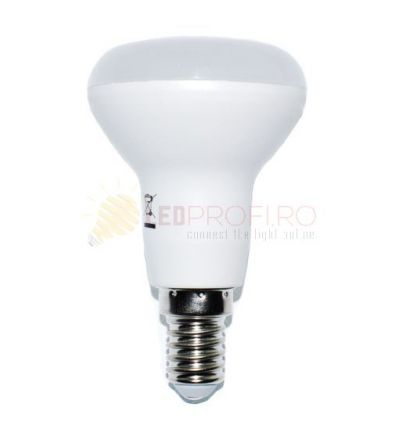 BEC LED E14 6W/230V/2700K ALB CALD