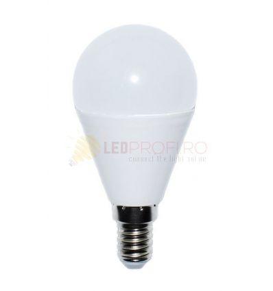 BEC LED 8W/E14/2700K ALB CALD SFERIC