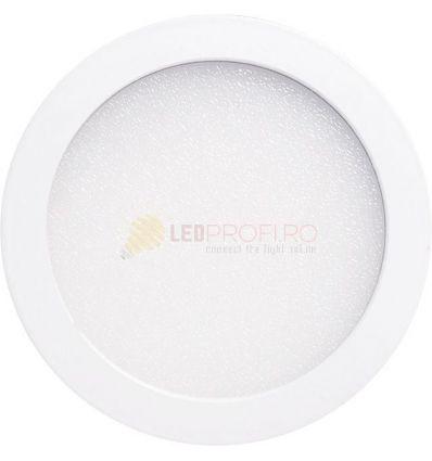 SPOT LED SLIM ROTUND/24W/6400K ALB RECE