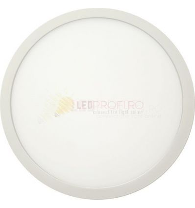 APLICA LED 24W ROTUNDA 6400K ALB RECE
