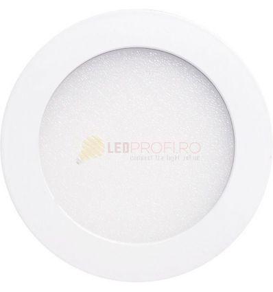 SPOT LED SLIM ROTUND 18W/6400K ALB RECE