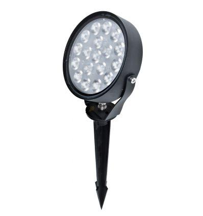 SPOT LED DE EXTERIOR 9W 3000K ALB CALD