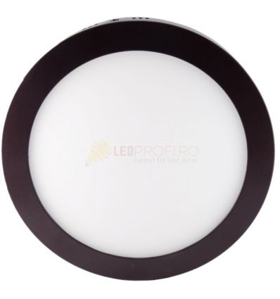 APLICA LED 18W ROTUNDA WENGE 6400K