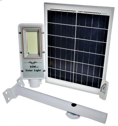 LAMPA STRADALA LED IP67 85W SMD CU PANOU SOLAR