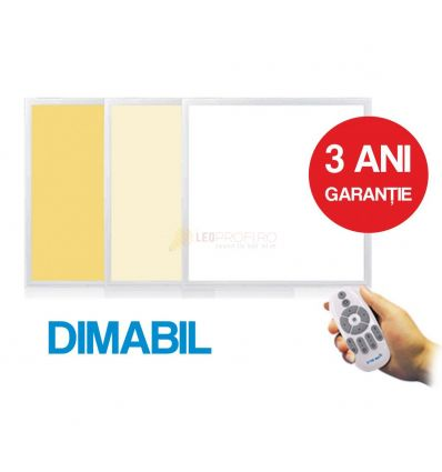 PANOU LED 595x595x10MM 2x36W DIMABIL