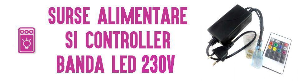Surse Alimentare si Controller pentru Banda LED 12V